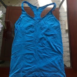 Under armour blue tank top